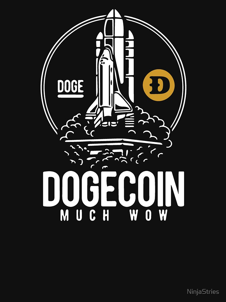 RedBubble: Dogecoin Rocket To The Moon