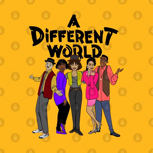 TeePublic: A Different World Black TV Shows