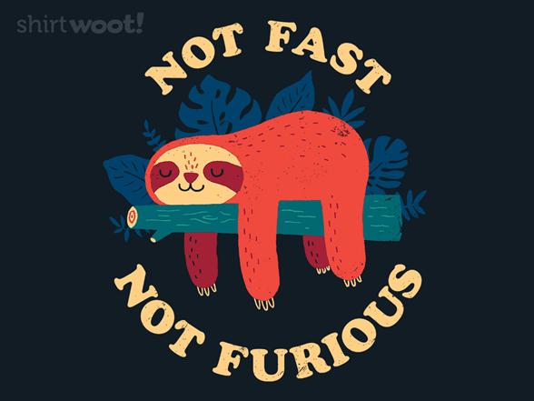 Woot!: Not Fast, Not Furious