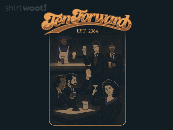 Woot!: Ten Forward Full Illustration - $7.00 + $5 standard shipping