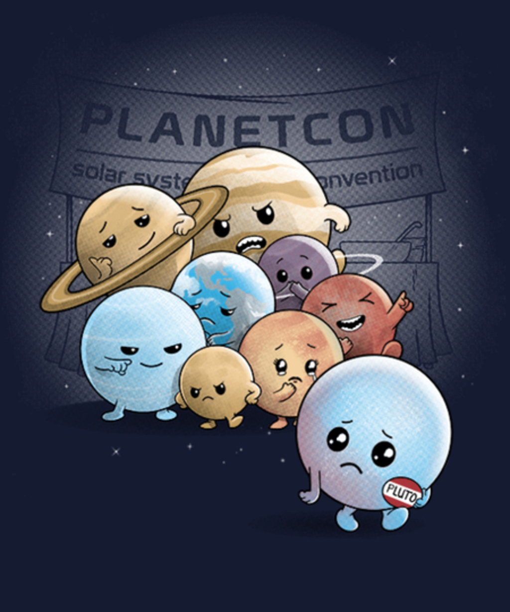 Qwertee: Planet No More