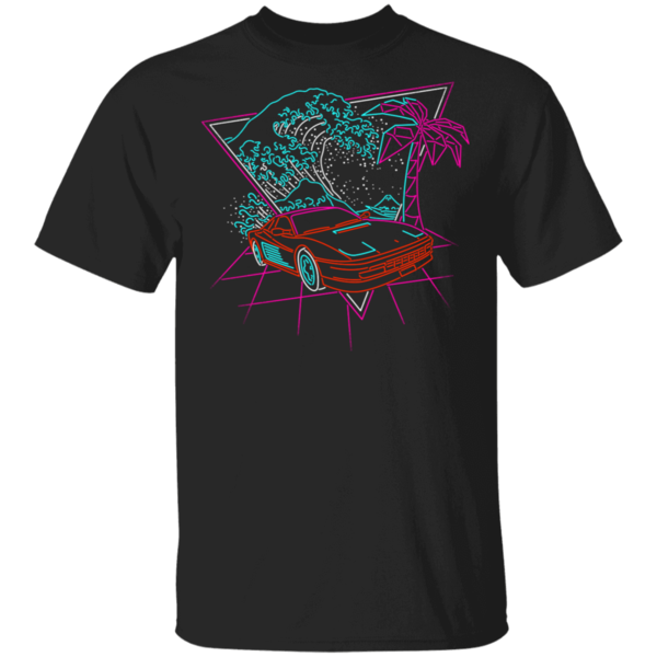 Pop-Up Tee: Wave Of The 80s