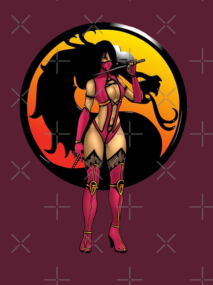 RedBubble: Mortal Kombat - Mileena