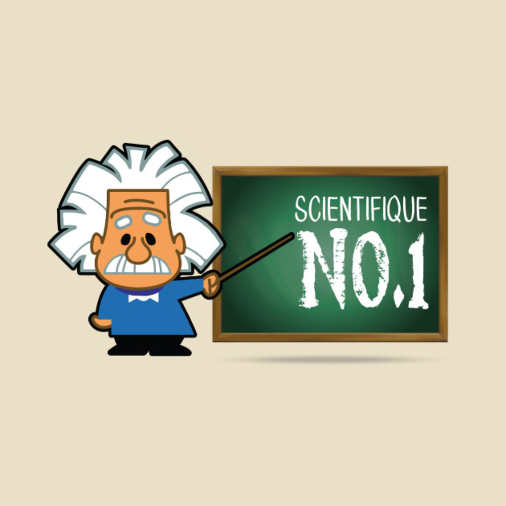 TeePublic: Scientifique No. 1