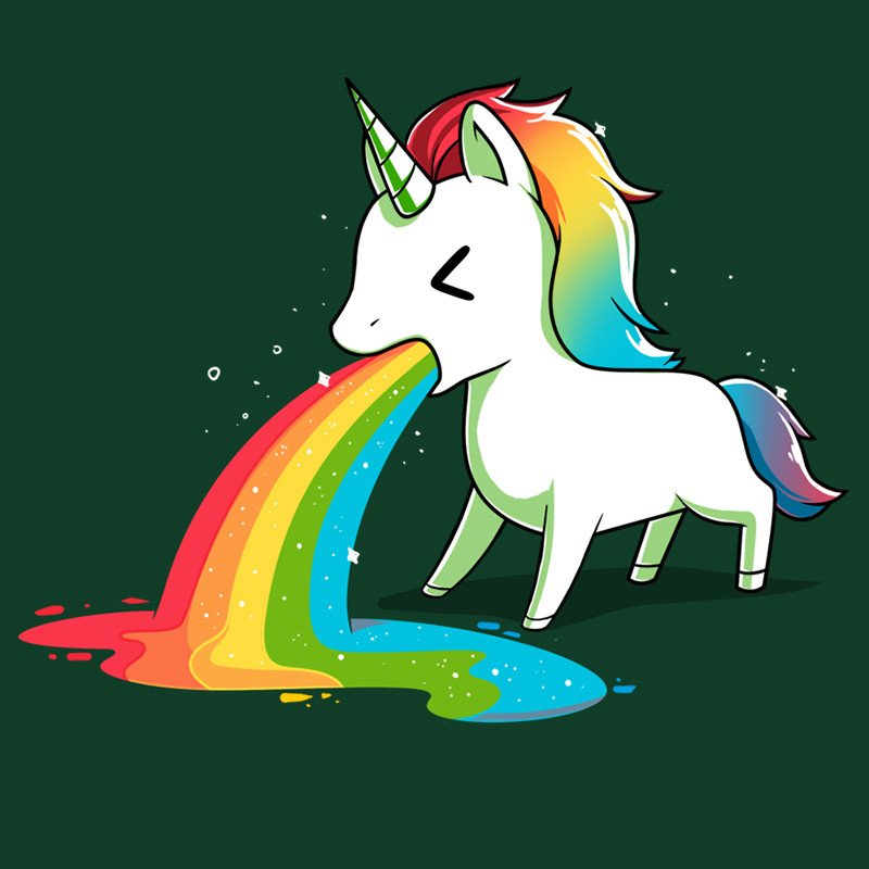 TeeTurtle: Where Rainbows Come From (Green)
