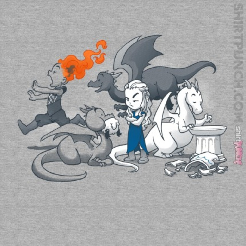 ShirtPunch: Mother of Unruly Dragons