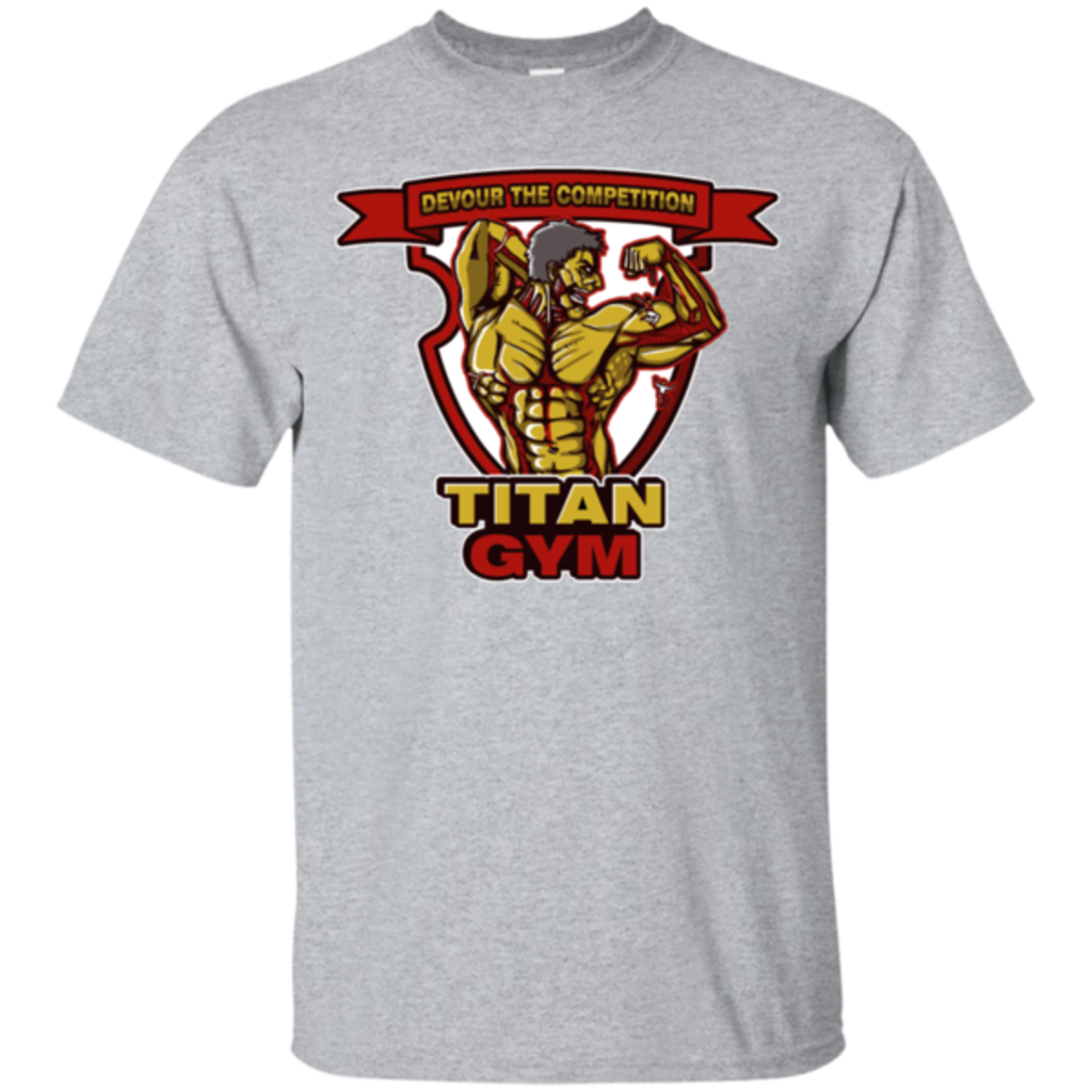 Pop-Up Tee: Titan Gym