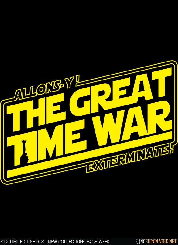 Once Upon a Tee: The Great Time War