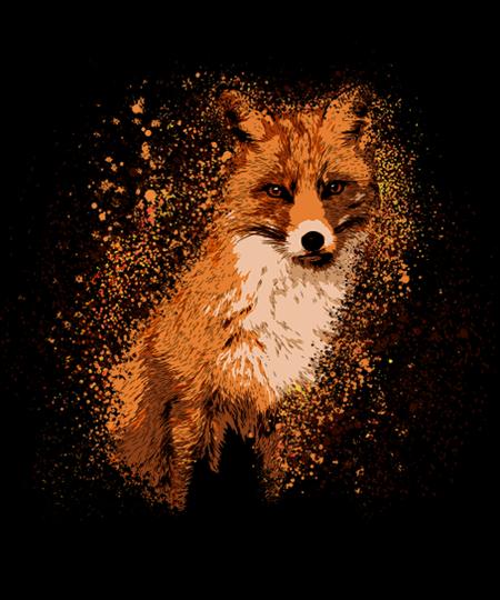 Qwertee: Wild Fox