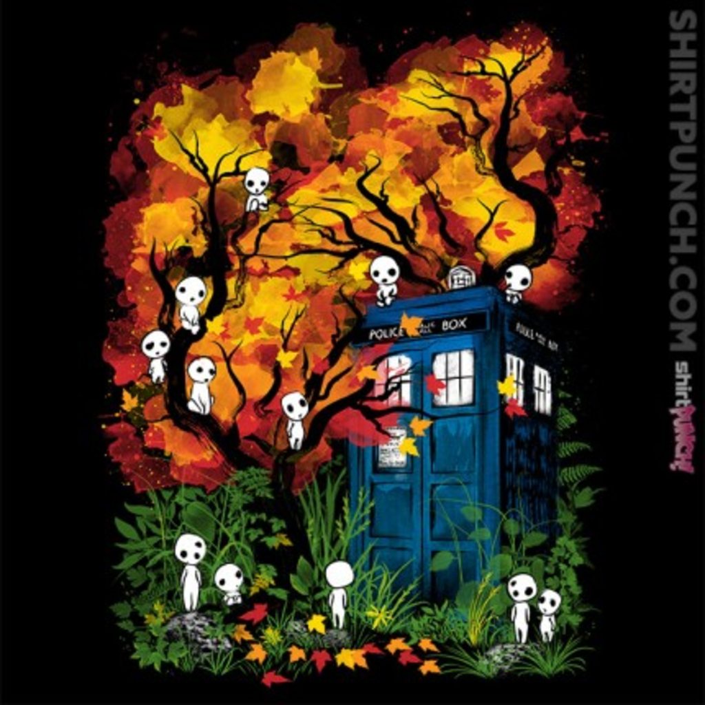 ShirtPunch: The Doctor in the Forest