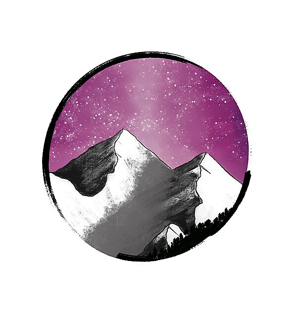 RedBubble: Pink Mountains