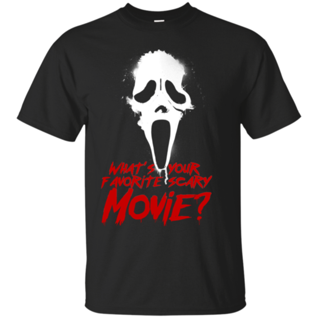 Pop-Up Tee: What's Your Favorite Scary Movie