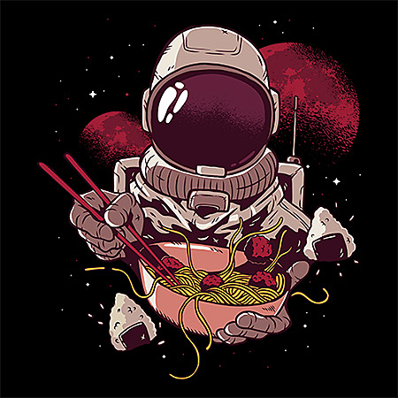 MeWicked: Ramen in Outer Space - Astronaut - Streetwear