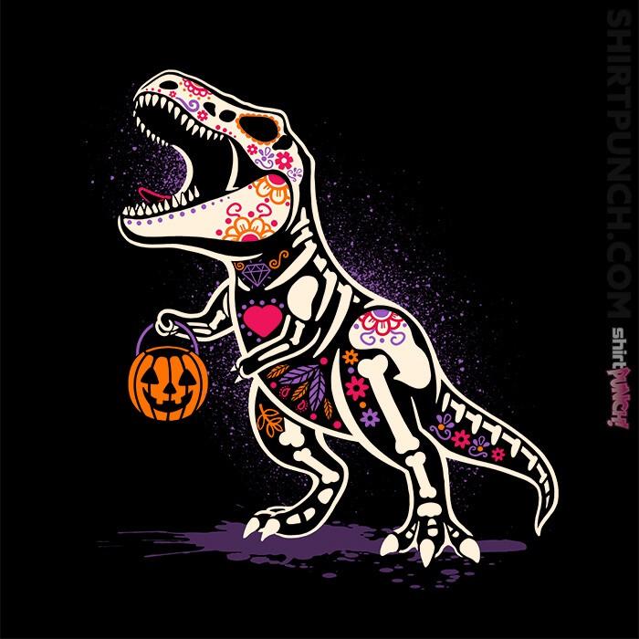 ShirtPunch: Calaverasaurus rex