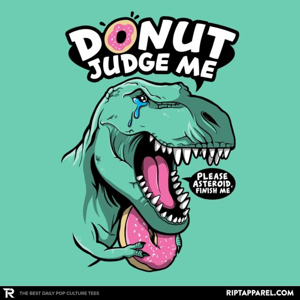 Ript: Donut Judge the T-Rex