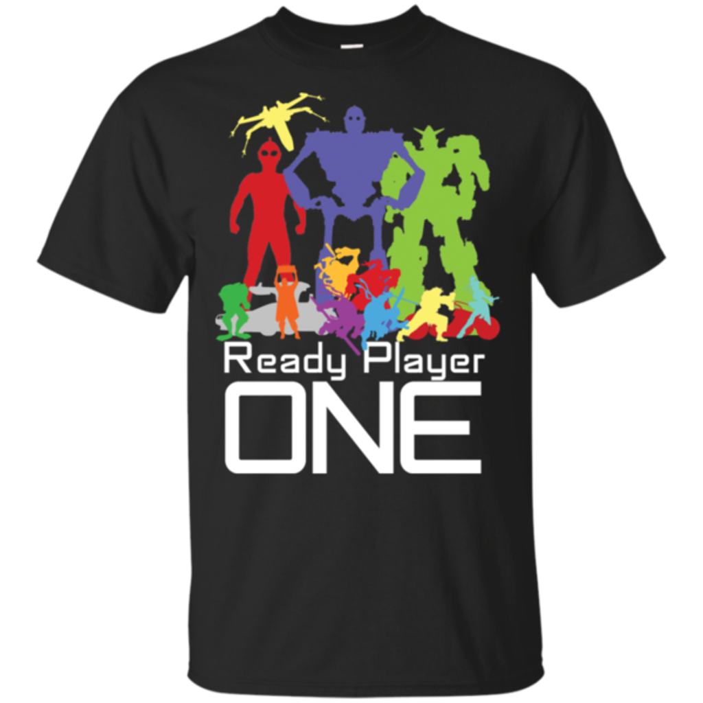 Pop-Up Tee: Ready Player One