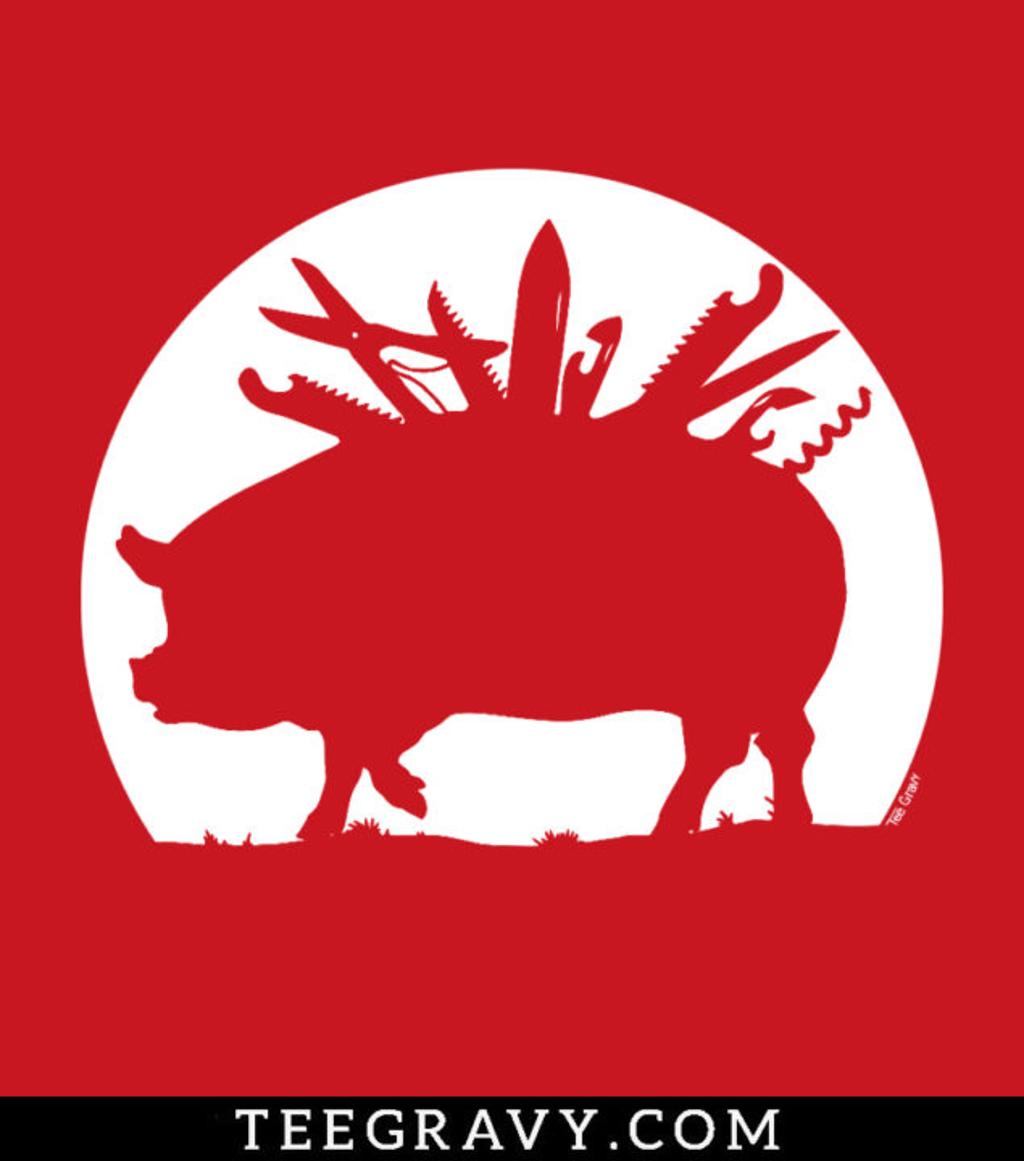 Tee Gravy: Swiss Army Pig