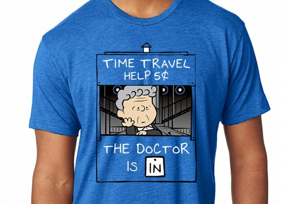 SnorgTees: The Doctor Is In Limited Edition Tri-Blend