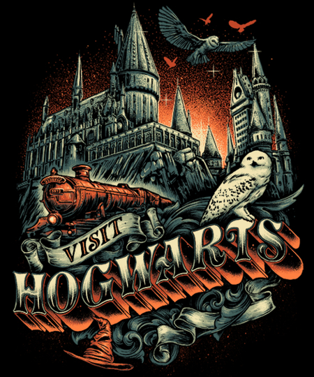 Qwertee: World of the Wizards