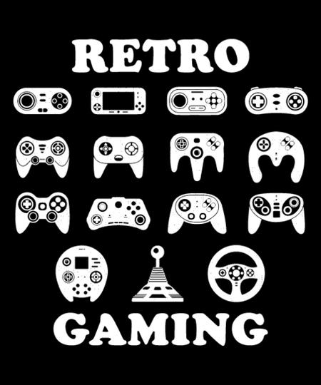 Qwertee: retro gaming