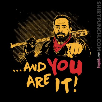 ShirtPunch: And You Are It
