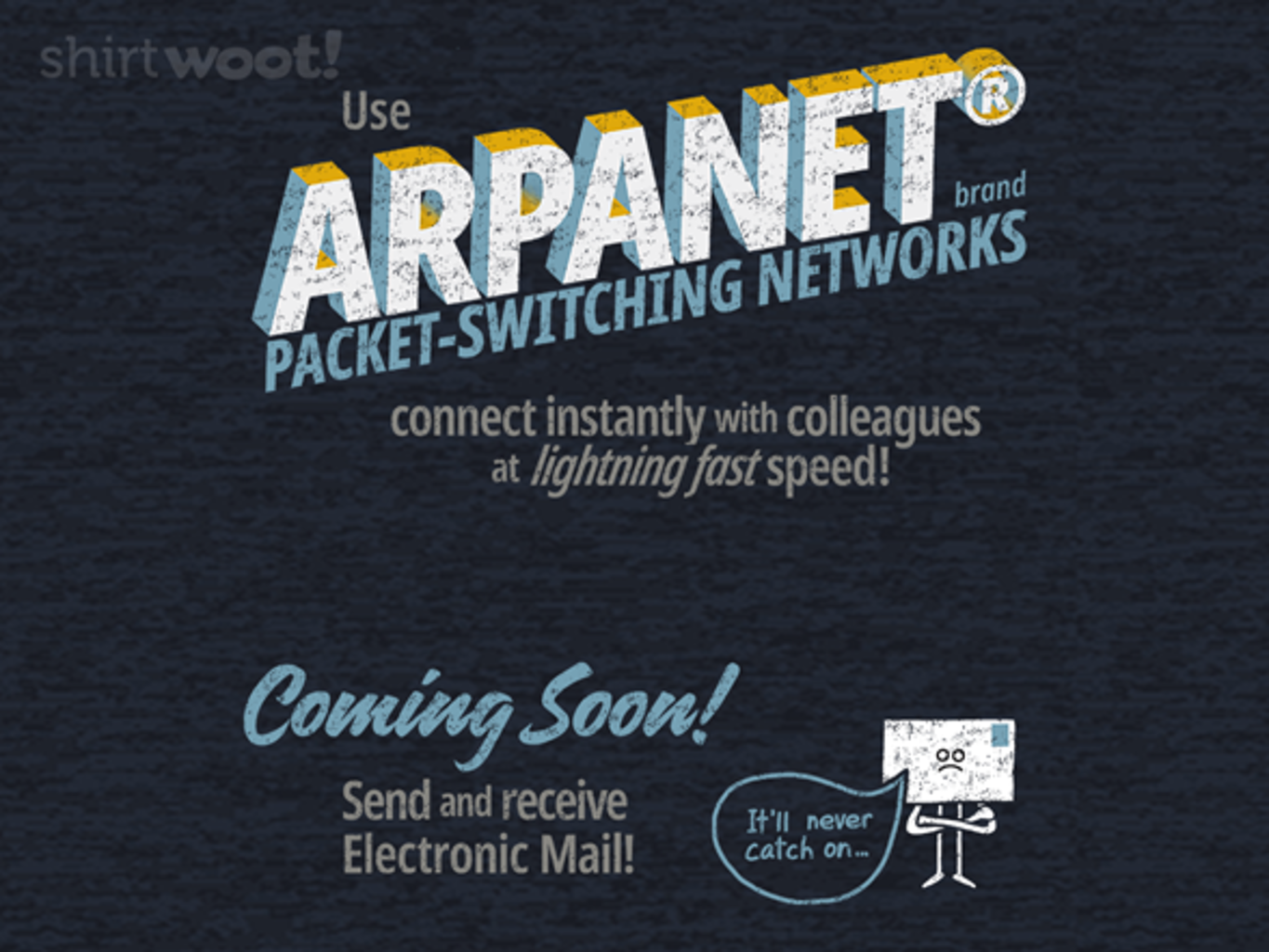 Woot!: Welcome to the ARPANET