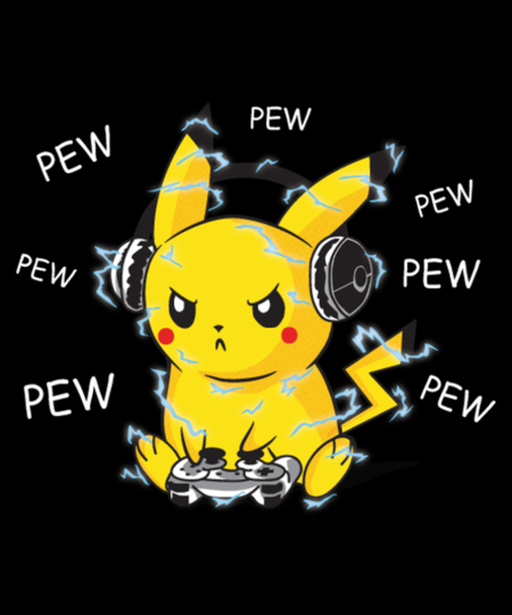 Qwertee: pew pew pew-kachu