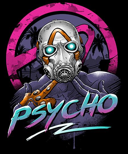 Qwertee: Rad Psycho