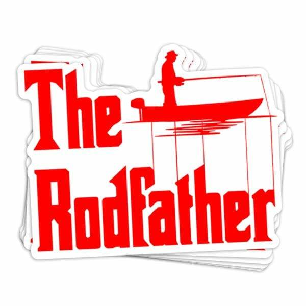 BustedTees: The Rodfather Vinyl Sticker