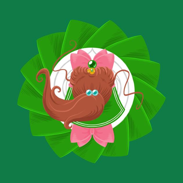 TeePublic: Spinning Senshi - Jupiter