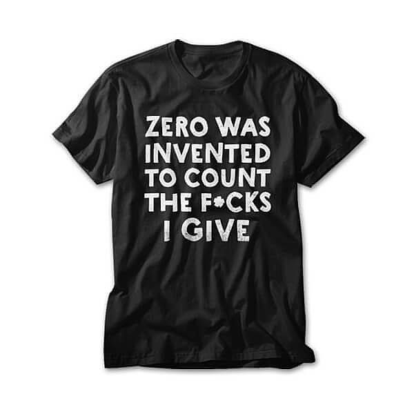 OtherTees: The Invention Of Zero