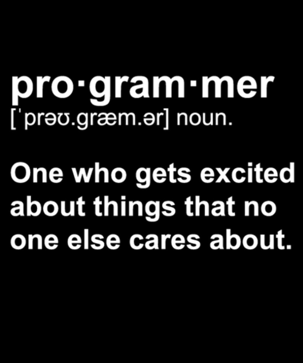 Qwertee: Programmer Definition