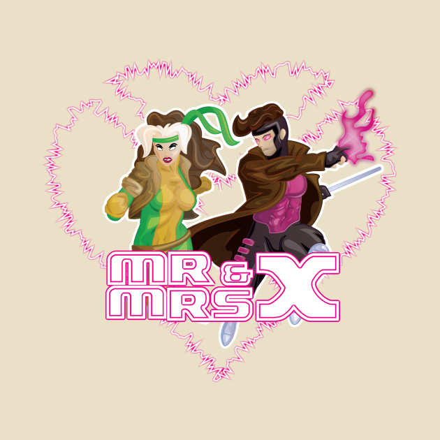TeePublic: Mr & Mrs X