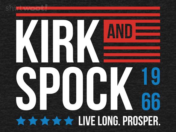 Woot!: Kirk & Spock 1966