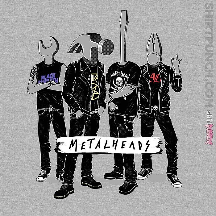 ShirtPunch: Metalheads