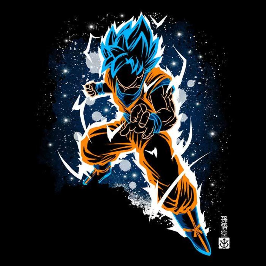 Once Upon a Tee: The Blue Super Saiyan
