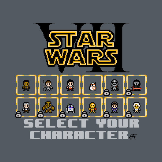 TeePublic: STAR WARS: EPISODE VII - THE FORCE AWAKENS SELECT SCREEN (UPDATED)