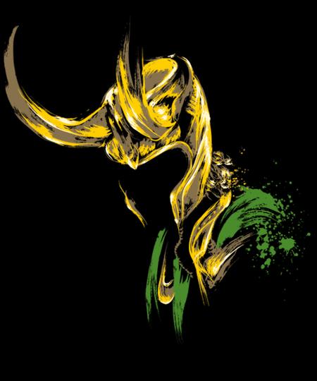 Qwertee: God of Mischief
