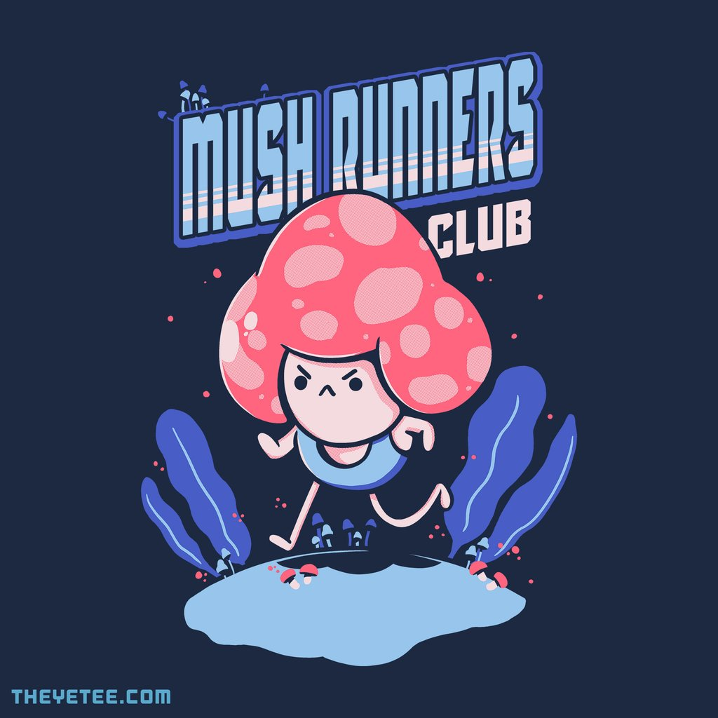 The Yetee: Mushrunners by ilustrata