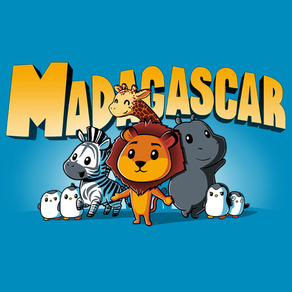 TeeTurtle: Madagascar Shirt