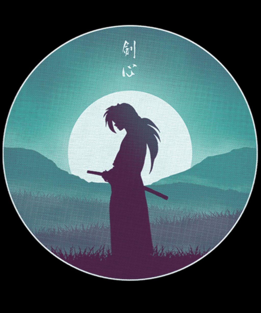 Qwertee: Rurouni Samurai