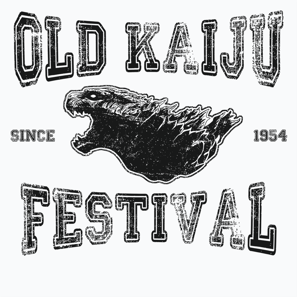 Pop-Up Tee: Old Kaiju Festival