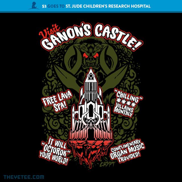 The Yetee: Ganon's Castle