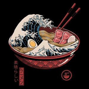 Once Upon a Tee: Great Ramen Wave