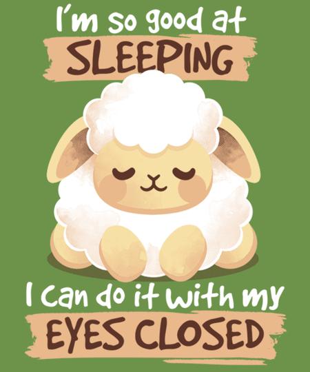 Qwertee: Sleeping sheep