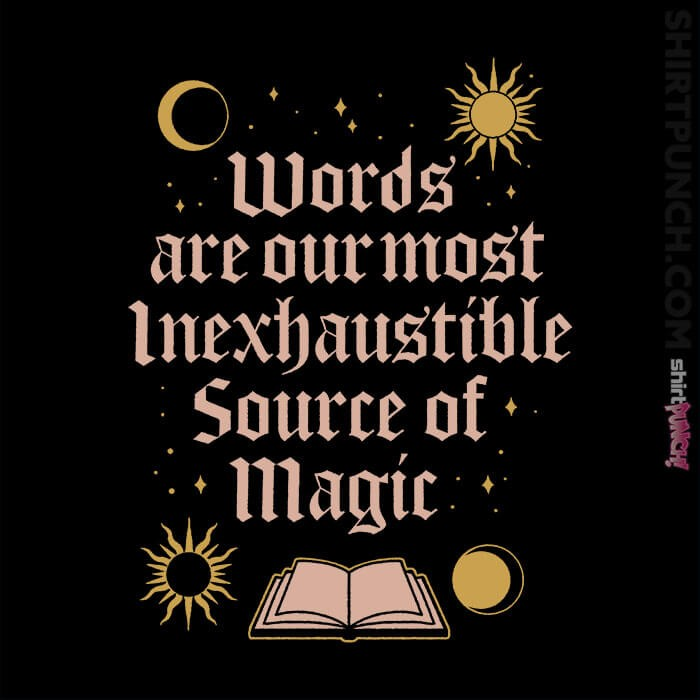 ShirtPunch: Source Of Magic