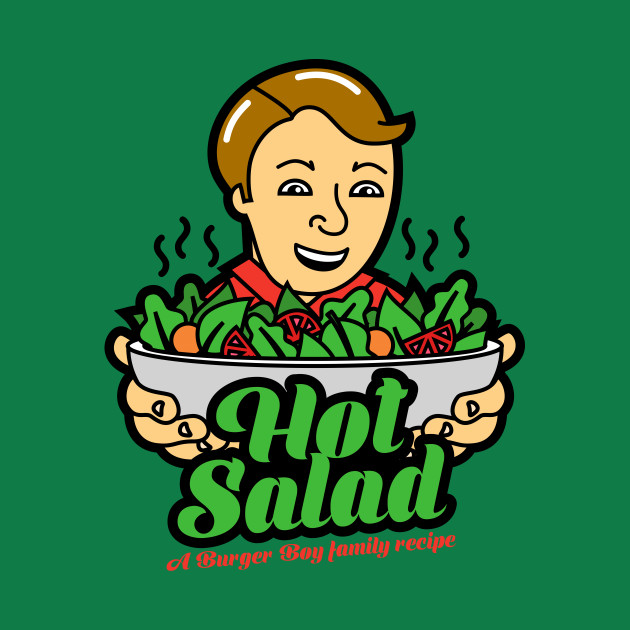 TeePublic: Hot Salad
