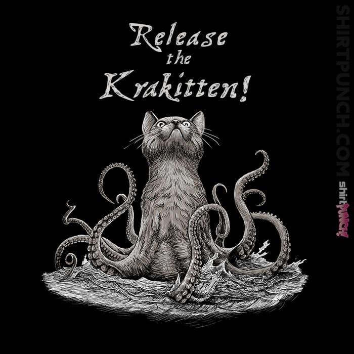 ShirtPunch: Release The Krakitten