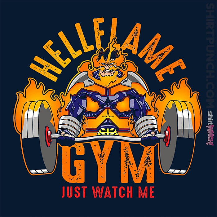ShirtPunch: Endeavor Gym