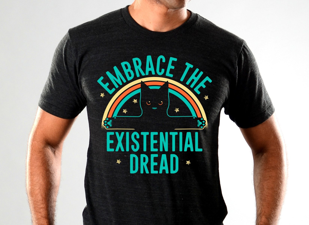 SnorgTees: Embrace The Existential Dread Limited Edition Tri-Blend